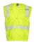 ML Kishigo 1291-1292 Six Pocket Zipper Vest Lime