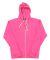 J8872 J-America Adult Tri-Blend Full-Zip Hooded Fleece Wildberry Tri-Blend