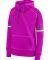 Augusta Sportswear 5440 Women's Spry Hoodie Purple/ White/ Graphite