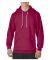 71500 Anvil 7.2 oz. Fleece Pullover Hood Independence Red