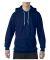 71500 Anvil 7.2 oz. Fleece Pullover Hood Navy
