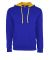 Next Level 9301 Unisex French Terry Pullover Hoody ROYAL/ GOLD