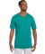 580 Two Button Baseball Jersey Teal