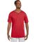 580 Two Button Baseball Jersey Red