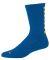 Augusta Sportswear 6092 Color Block Crew Sock Royal/ Gold