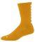 Augusta Sportswear 6092 Color Block Crew Sock Gold/ White