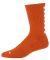 Augusta Sportswear 6092 Color Block Crew Sock Orange/ White