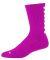 Augusta Sportswear 6092 Color Block Crew Sock Power Pink/ White
