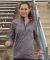 Russel Athletic QZ7EAX Women's Striated Quarter-Zip Pullover