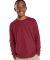 6201 LA T Youth Fine Jersey Long Sleeve T-Shirt GARNET