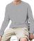 6201 LA T Youth Fine Jersey Long Sleeve T-Shirt HEATHER