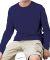 6201 LA T Youth Fine Jersey Long Sleeve T-Shirt NAVY