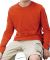 6201 LA T Youth Fine Jersey Long Sleeve T-Shirt ORANGE
