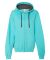 50 LSF73R Women's Sofspun® Full-Zip Hooded Sweatshirt Scuba Blue