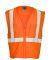 ML Kishigo FM419-420 Self Extinguishing Mesh Vest Orange