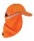 ML Kishigo 2811-2812 Baseball Cap Sun Shield Orange