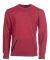 Russel Athletic 82CNSM Cotton Rich Crewneck Sweatshirt Red Heather