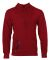 Russel Athletic 82HNSM Cotton Rich Hooded Pullover Sweatshirt Red Heather