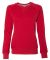 Russel Athletic LF3YHX Women's Lightweight Crewneck Sweatshirt True Red