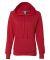 Russel Athletic LF1YHX Women's Lightweight Hooded Sweatshirt True Red