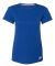 Russel Athletic 64STTX Women's Essential 60/40 Performance Tee Royal