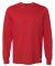 Russel Athletic 64LTTM Essential Long Sleeve 60/40 Performance Tee True Red