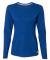 Russel Athletic 64LTTX Women's Essential Long Sleeve 60/40 Performance Tee Royal
