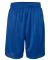 "Russel Athletic 651AFM 9"" Polyester Tricot Mesh Pocketed Shorts Royal"