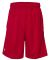 "Russel Athletic 651AFM 9"" Polyester Tricot Mesh Pocketed Shorts True Red"