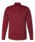 Russel Athletic QZ7EAM Striated Quarter-Zip Pullover True Red