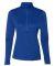 Russel Athletic QZ7EAX Women's Striated Quarter-Zip Pullover Royal