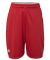 """Russel Athletic TS7X2B Youth 7"""" Essential Pocketed Shorts True Red"""