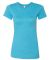 BELLA 6004 Womens Favorite T-Shirt HEATHER AQUA