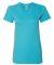 2102W Women's Fine Jersey T-Shirt AQUA