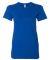 2102W Women's Fine Jersey T-Shirt ROYAL BLUE