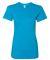 2102W Women's Fine Jersey T-Shirt TEAL