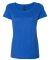 Hanes MO150 Women's Modal Triblend T-Shirt Royal Triblend