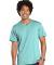 6907 LA T Adult Fine Jersey V-Neck T-Shirt CHILL