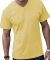 6907 LA T Adult Fine Jersey V-Neck T-Shirt BUTTER