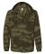Independent Trading Co. EXP95NB Water Resistant Windbreaker Forest Camo