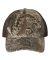 Richardson Hats 111P Washed Printed Trucker Cap Realtree Max-1/ Brown
