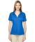 75118 Ash City - Extreme Eperformance™ Ladies' Propel Interlock Polo with Contrast Tape LT NAUT BLU 417