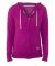 Russel Athletic 64ZTTX Women's Essential Jersey Full-Zip Hoodie Very Berry/ Oxford