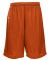 Russel Athletic 659AFB Youth Tricot Mesh Short Burnt Orange