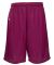 Russel Athletic 659AFB Youth Tricot Mesh Short Maroon