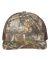 Richardson Hats 112P Patterned Snapback Trucker Cap Realtree Edge/ Brown