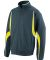 7711 Augusta Adult Cross Weave Slate/ Power Yellow/ White