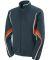 Augusta Sportswear 7712 Women's Rival Jacket Slate/ Orange/ White