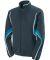 Augusta Sportswear 7712 Women's Rival Jacket Slate/ Power Blue/ White