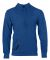 Russel Athletic 82HNSM Cotton Rich Hooded Pullover Sweatshirt Blue Heather